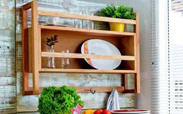 Usando madeira na decoração da cozinha 020