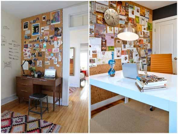 Como decorar paredes e pisos com cortiça 006
