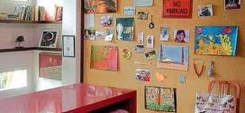 Como decorar paredes e pisos com cortiça