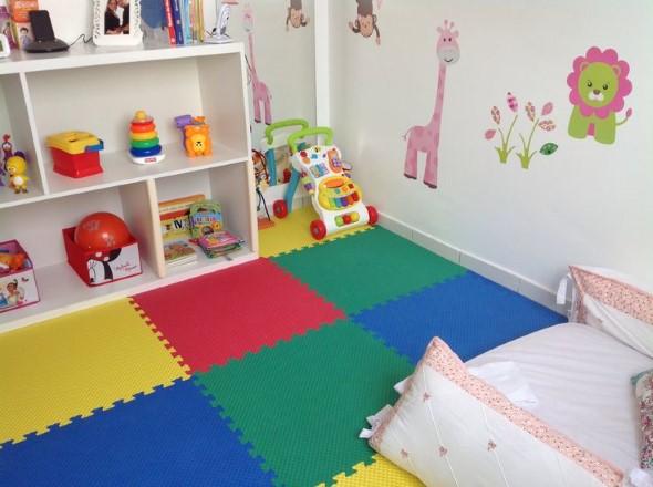 Decoração em EVA para o quarto do bebê 006