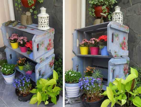 Decore a varanda com caixotes 004