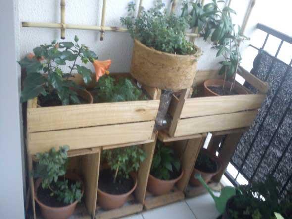 Decore a varanda com caixotes 006