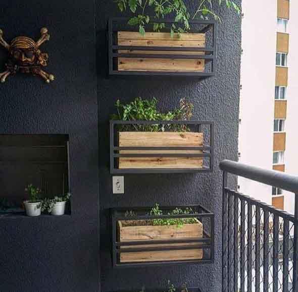 Decore a varanda com caixotes 016