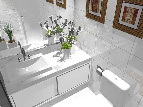 Decore toda casa na cor branca 012