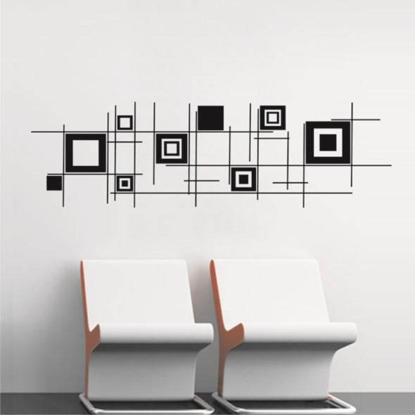 Quadros de forma criativa na decoração 015