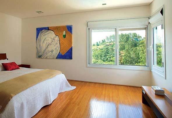 Quarto com piso de madeira 004