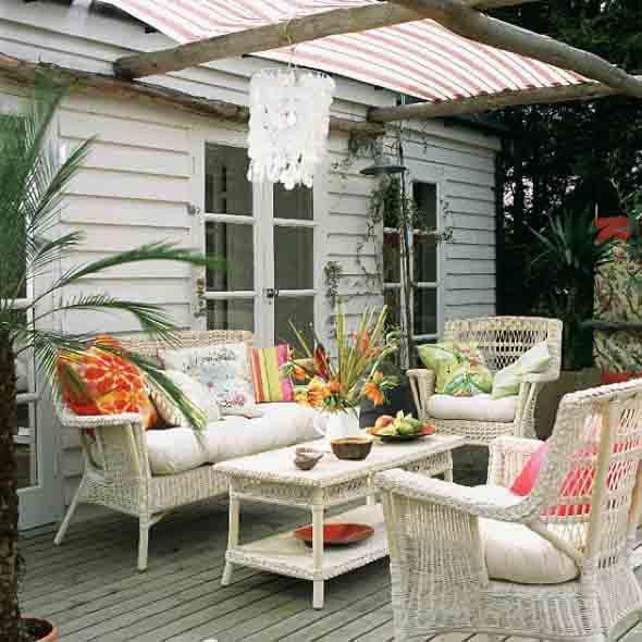 Sala de estar ao ar livre 002