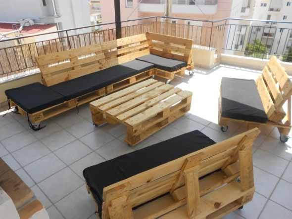 Sala de estar ao ar livre 004