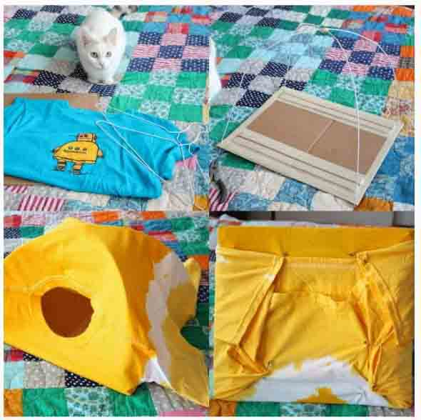 Cama artesanal para PET 012