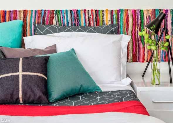 Como decorar a casa com tapetes nas paredes 014
