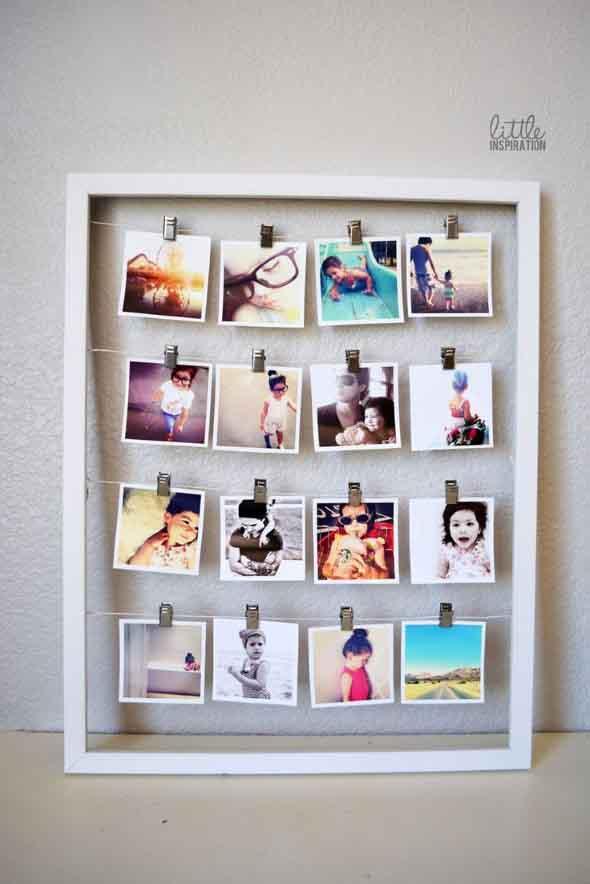 Painel de fotos decorativo 004