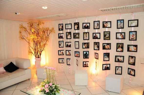 Painel de fotos decorativo 011