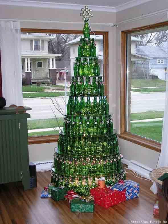 Árvores de Natal criativas 001