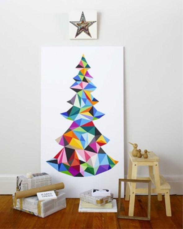 Árvores de Natal criativas 003