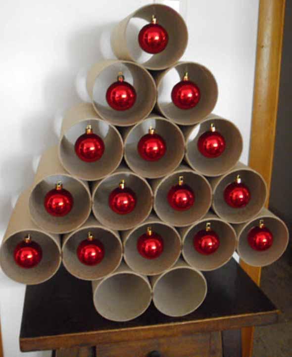 Árvores de Natal criativas 006