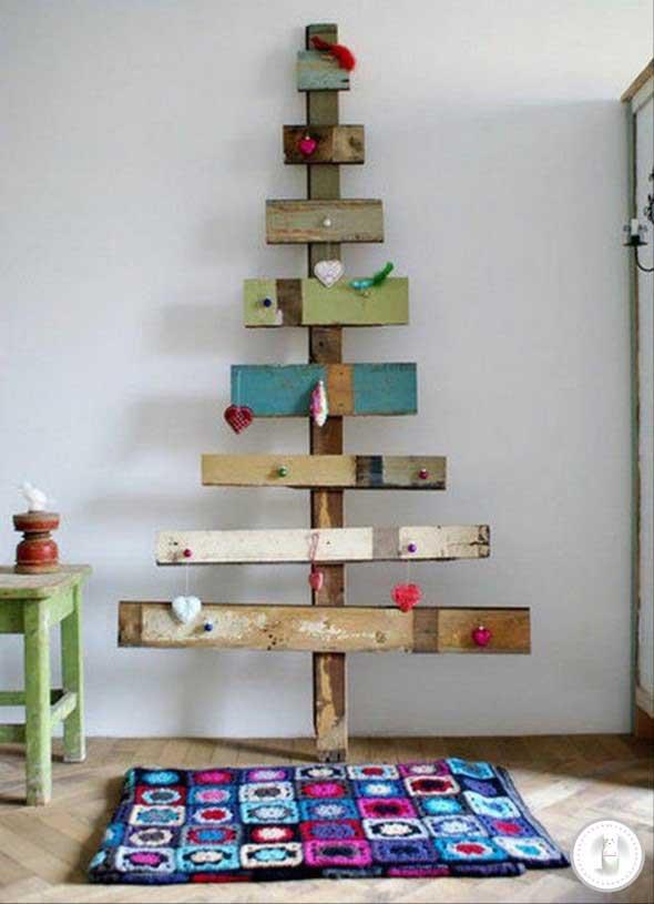 Árvores de Natal criativas 007