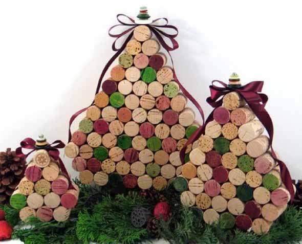 Árvores de Natal criativas 008