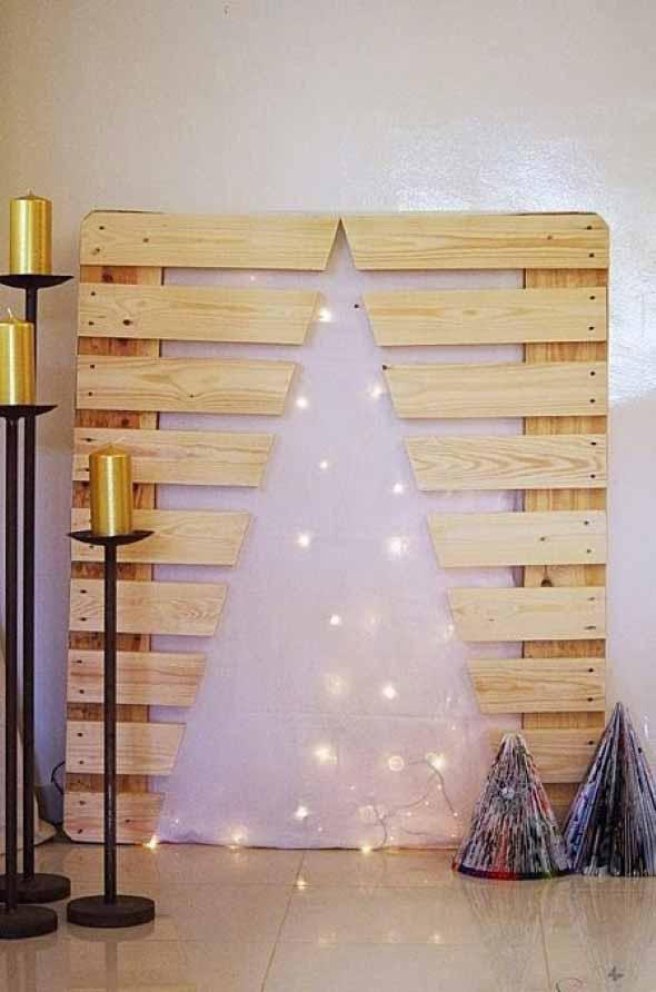 Árvores de Natal criativas 010