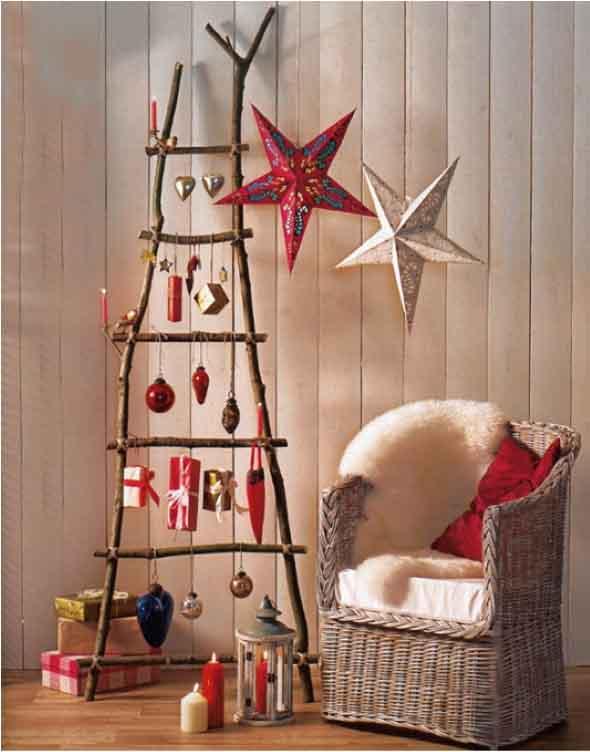 Árvores de Natal criativas 011