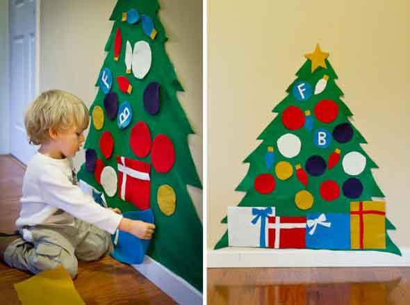 Árvores de Natal criativas 012
