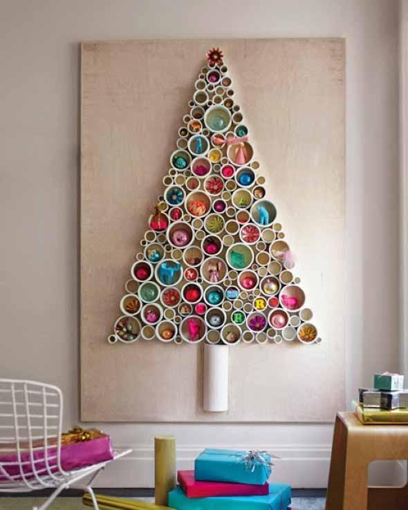 Árvores de Natal criativas 013