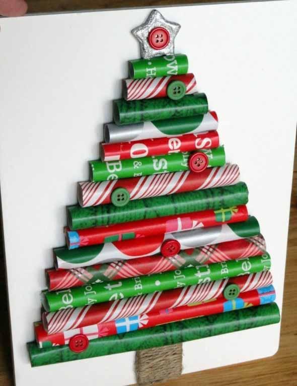 Árvores de Natal criativas 015