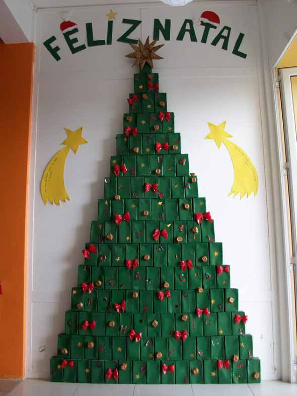 Árvores de Natal criativas 016