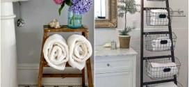 Usar escada como item decorativo