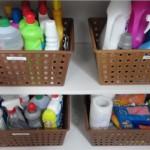 Cestos e caixas organizadoras pela casa 003