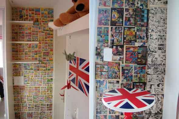 Criatividade com revistas, quadrinhos e jornais 001