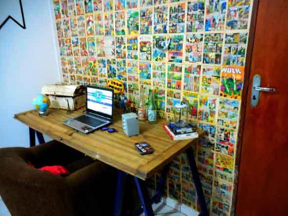 Criatividade com revistas, quadrinhos e jornais 003