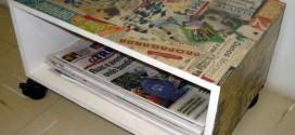 Criatividade com revistas, quadrinhos e jornais