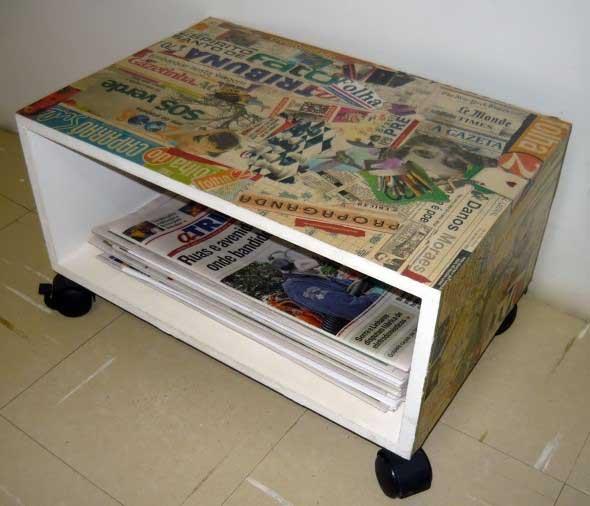 Criatividade com revistas, quadrinhos e jornais 005