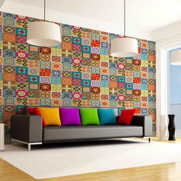 Decorar ambientes com as cores do arco-íris 003