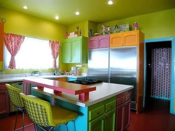 Decorar ambientes com as cores do arco-íris 010