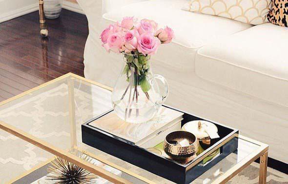 Decore e organize sua casa com bandejas 004