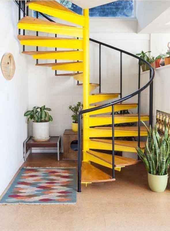 Escadas coloridas 013