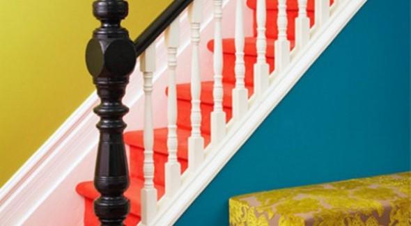Escadas coloridas 014