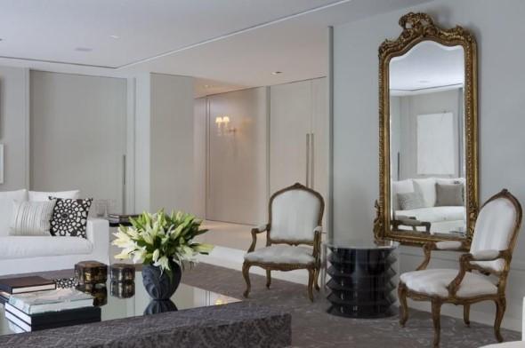 Espelhos antigos na decoração 005