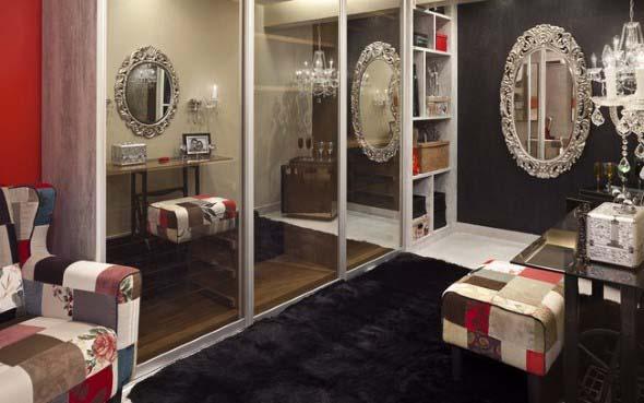 Espelhos antigos na decoração 012