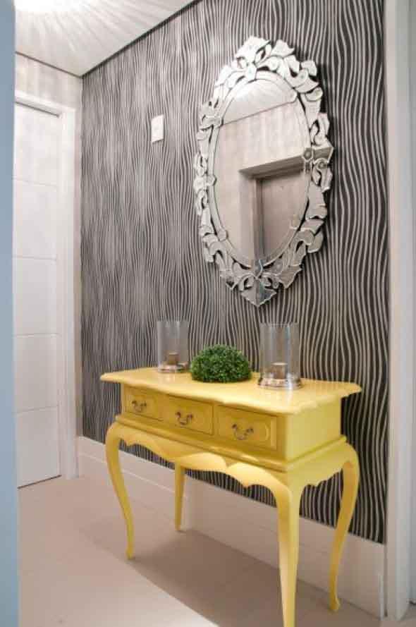 Espelhos antigos na decoração 014
