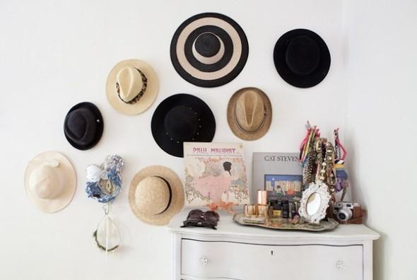 Ideias para usar chapéus na decoração 002