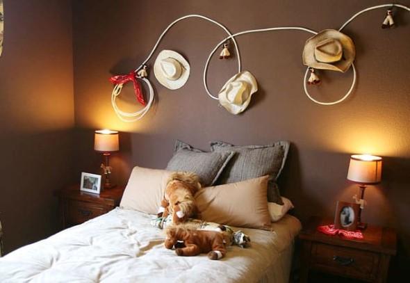 Ideias para usar chapéus na decoração 008