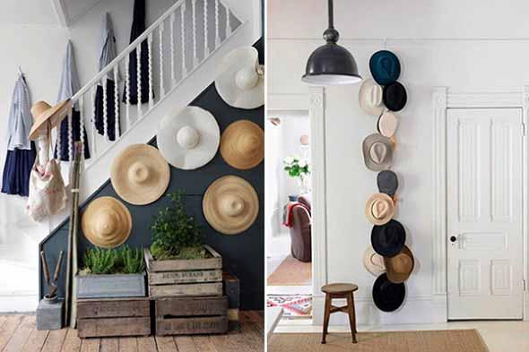 Ideias para usar chapéus na decoração 009