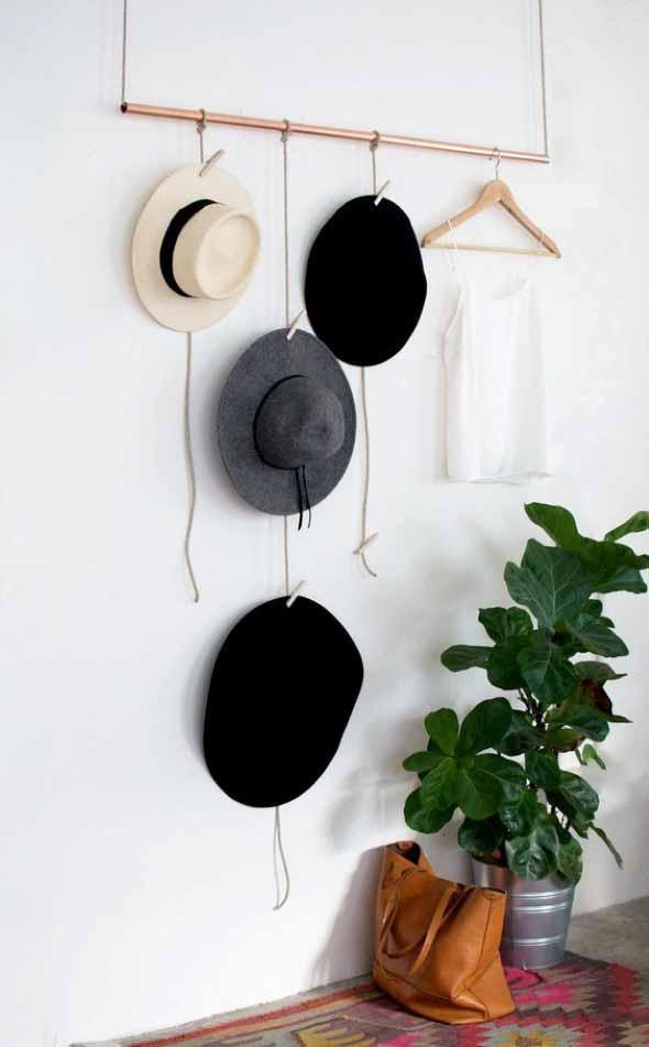 Ideias para usar chapéus na decoração 015