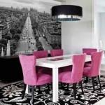 Inspiração com tons de rosa na decoração 009