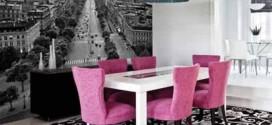 Inspiração com tons de rosa na decoração