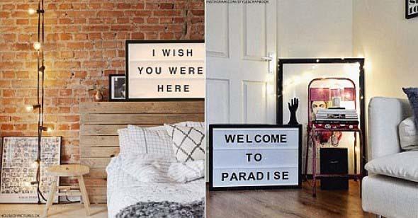 Decore sua casa com letreiros 002