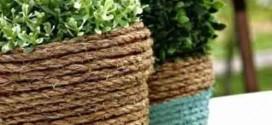 Ideias criativas para decorar com cordas