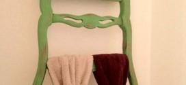Usar cadeiras na organização de casa